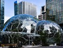 Il quartier generale di Amazon a Seattle (fonte: Biodin) (ANSA)