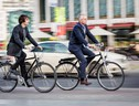Bike to work, in bicicletta al lavoro (ANSA)