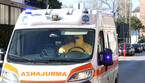 Una ambulanza (ANSA)