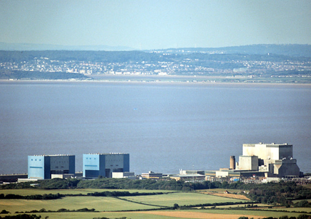 Nucleare: centrale di Hinkley Point (foto Richard Baker) © ANSA