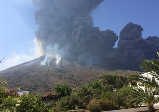 Stromboli erupts again after July one that killed hiker © ANSA