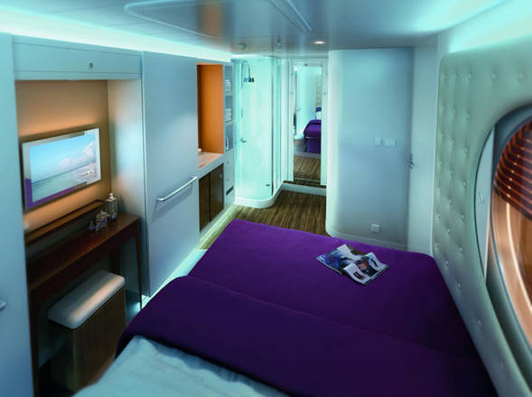 Le cabine speciali per single di Norwegian Cruise Line