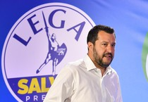 Italy Elections: Press conference Matteo Salvini