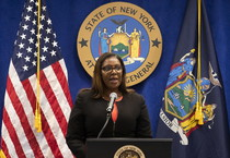 Il procuratore generale di New York Letitia James (ANSA)