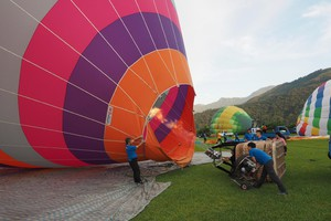 2018 Tawan International Balloon Festival (ANSA)