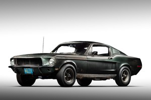 Ford Mustang Bullit del 1968 - CREDIT: uff. st. Ford (ANSA)