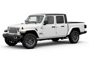 Jeep Gladiator Altitude, pick-up 'invernale' a prova di gelo (ANSA)