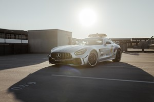 AMG GT R, safety car di F1 con l'arcobaleno 'solidale' (ANSA)