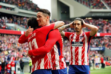 Atletico Madrid-Levante © EPA