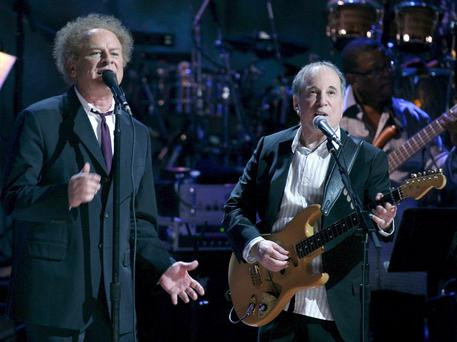 Art Garfunkel e Paul Simon © EPA