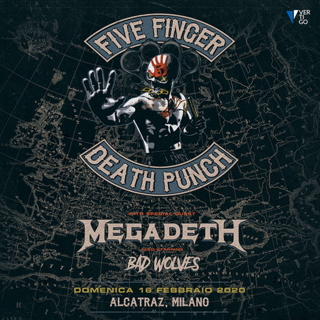 Five Finger Death Punch © Ansa