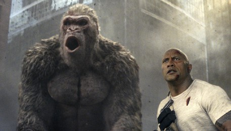 Film Review Rampage(ANSA)