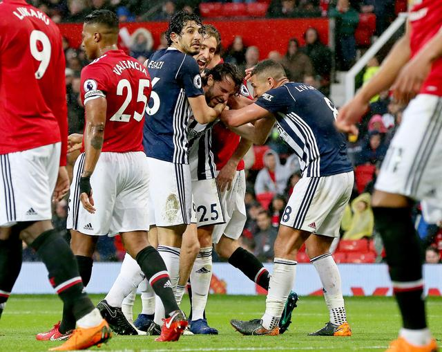Manchester United vs West Bromwich Albion ©