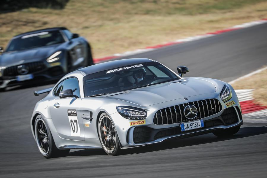 Mercedes AMG Driving Academy all'autodromo di Vallelunga © Ansa